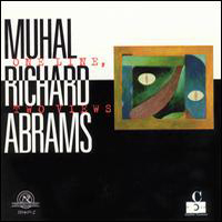 CD cover of Muhal Richard Abrams ONE LINE TWO VIEWS, Cover Art: Muhal Richard Abrams