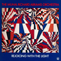 CD cover of The Muhal Richard Abrams Orchestra REJOICING WITH THE LIGHT, Cover Art: Muhal Richard Abrams