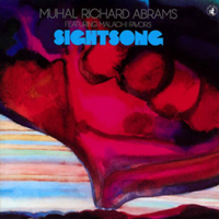 CD cover of Muhal Richard Abrams SIGHT SONG featuring Malachi Favors