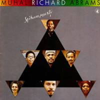 CD cover of Muhal Richard Abrams SPIHUMONESTY, Cover Design: Muhal Richard Abrams