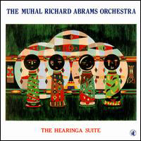 CD cover of The Muhal Richard Abrams Orchestra THE HEARINGA SUITE, Cover Art: Muhal Richard Abrams