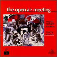 CD cover of Muhal Richard Abrams THE OPEN AIR MEETING with Marty Ehrlich