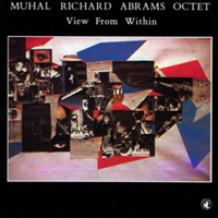 CD cover of The Muhal Richard Abrams Octet VIEW FROM WITHIN, Cover Art: Muhal Richard Abrams